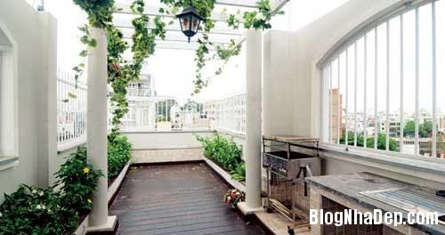 thiet ke nha dep 7 Tạo ra không gian thư giãn hiếm goi trong ngôi nhà phố chiều ngang 3m