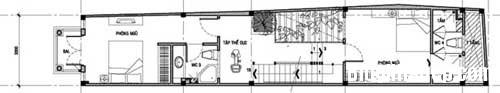 thiet ke nha dep 8 Tạo ra không gian thư giãn hiếm goi trong ngôi nhà phố chiều ngang 3m