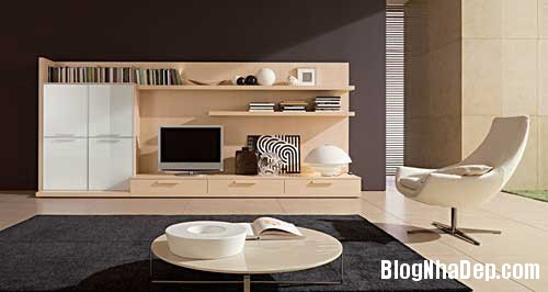 thiet ke noi that phong khach 1 Thiết kế phòng khách đa năng cho nhà phố