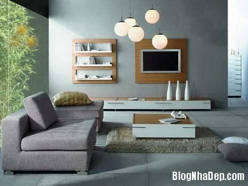 thiet ke noi that phong khach 2 Thiết kế phòng khách đa năng cho nhà phố
