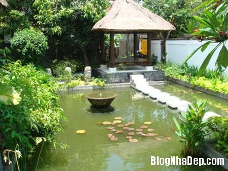 0 nha dep 7 Biệt thự vườn phong cách đồng quê