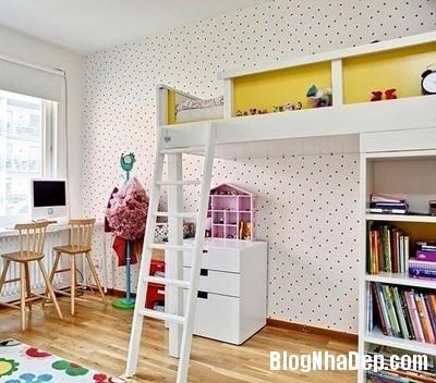 11 Tạo không gian vui chơi trong phòng ngủ cho bé yêu