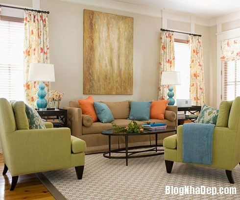 12CachPhoiMauHoanHaoChoNhaBan Bí quyết sắc màu khi trang trí không gian nhà ở