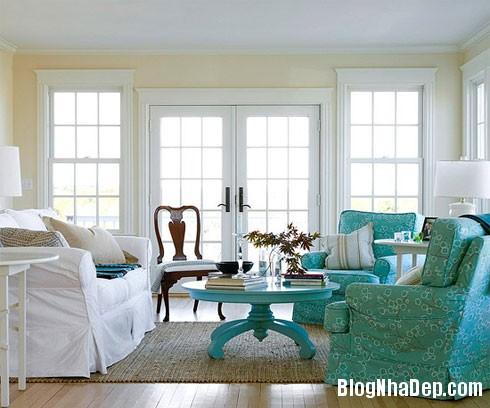 12CachPhoiMauHoanHaoChoNhaBan9 Bí quyết sắc màu khi trang trí không gian nhà ở