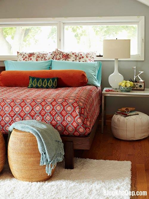 1376604892 1 Những mẫu phòng ngủ đẹp cho mùa thu