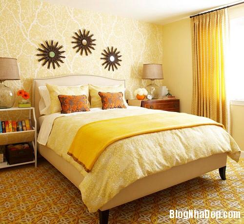 1376606425 2 Những mẫu phòng ngủ đẹp cho mùa thu