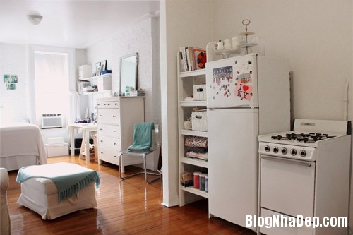 1397460091 22 Căn nhà nhỏ đầy cá tính của nữ thiết kế thời trang