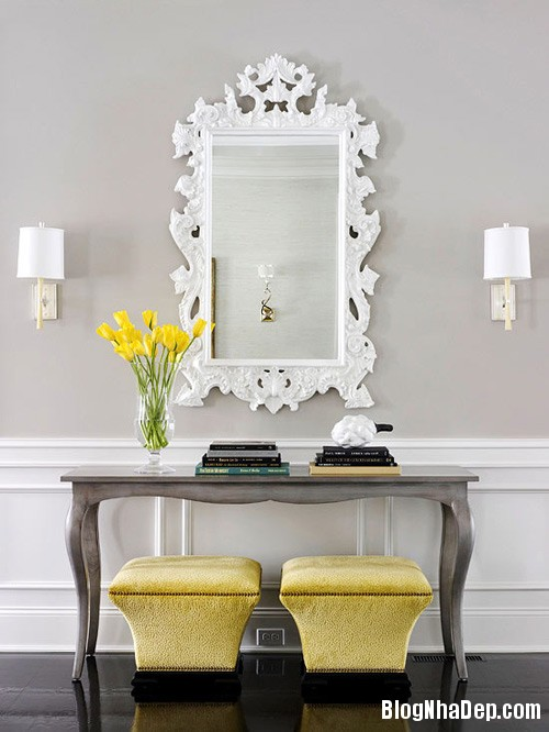 1399360216 1 Trang trí nhà đẹp với gương soi