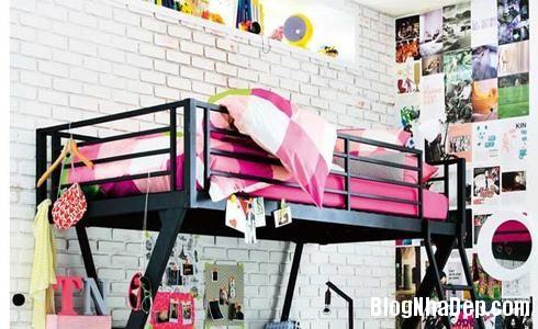 154 34 Phòng ngủ ấn tượng với các bức tường trang trí