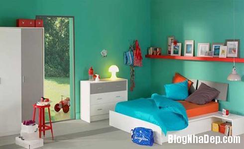 154 35 Phòng ngủ ấn tượng với các bức tường trang trí