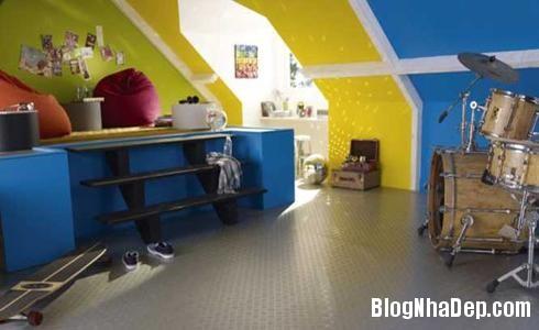 154 37 Phòng ngủ ấn tượng với các bức tường trang trí