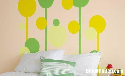 154 38 Phòng ngủ ấn tượng với các bức tường trang trí