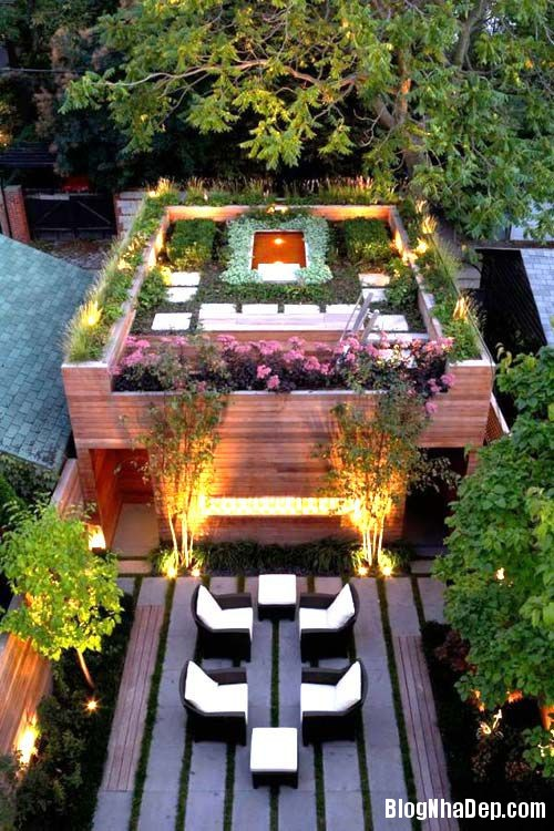 20140421073825170 Những lợi ích của vườn trên mái nhà