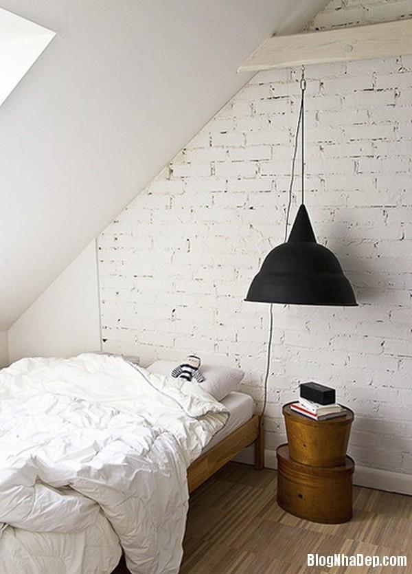 20140529074038342 Sử dụng tường gạch trong trang trí nội thất