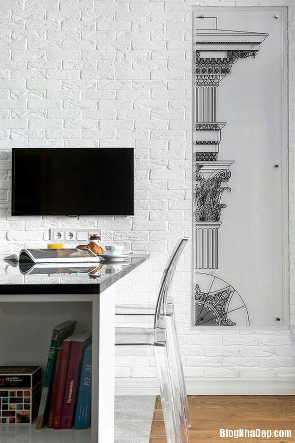 20140529074040323 Sử dụng tường gạch trong trang trí nội thất