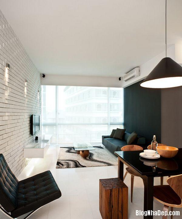 20140529074041321 Sử dụng tường gạch trong trang trí nội thất