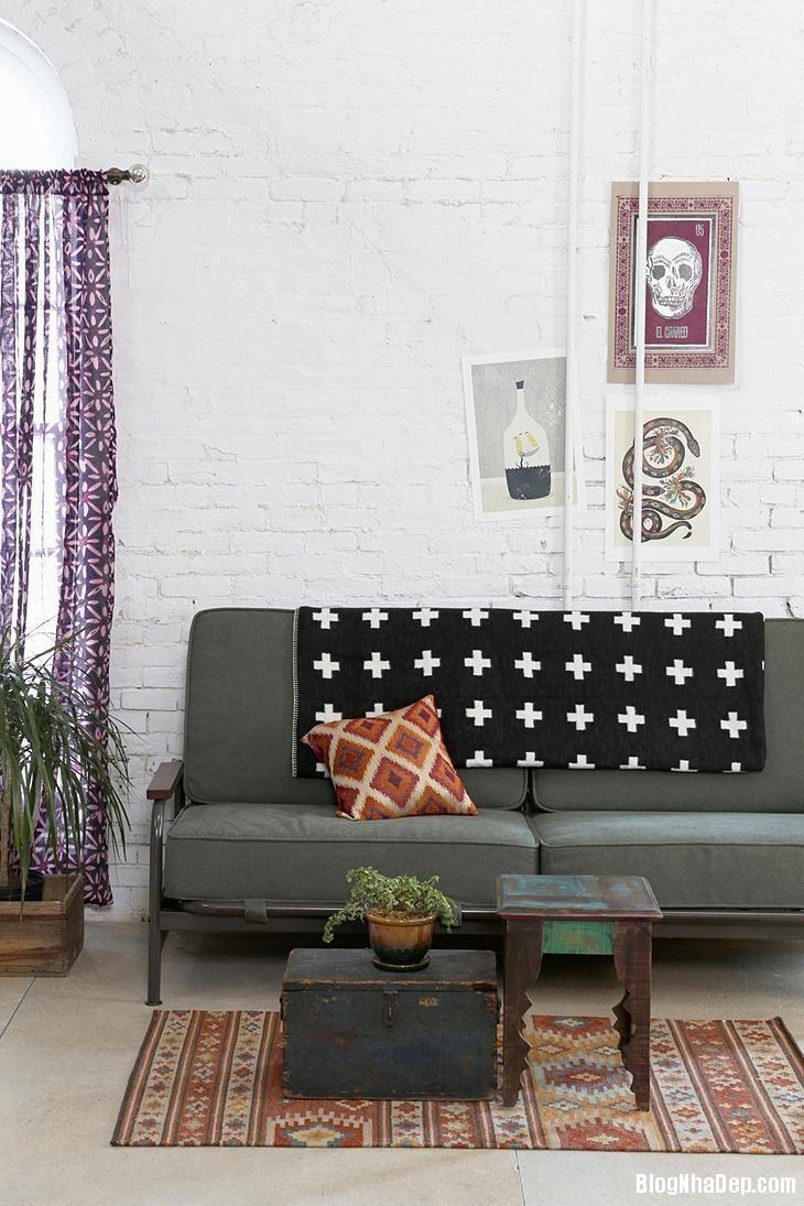 20140529074043069 Sử dụng tường gạch trong trang trí nội thất