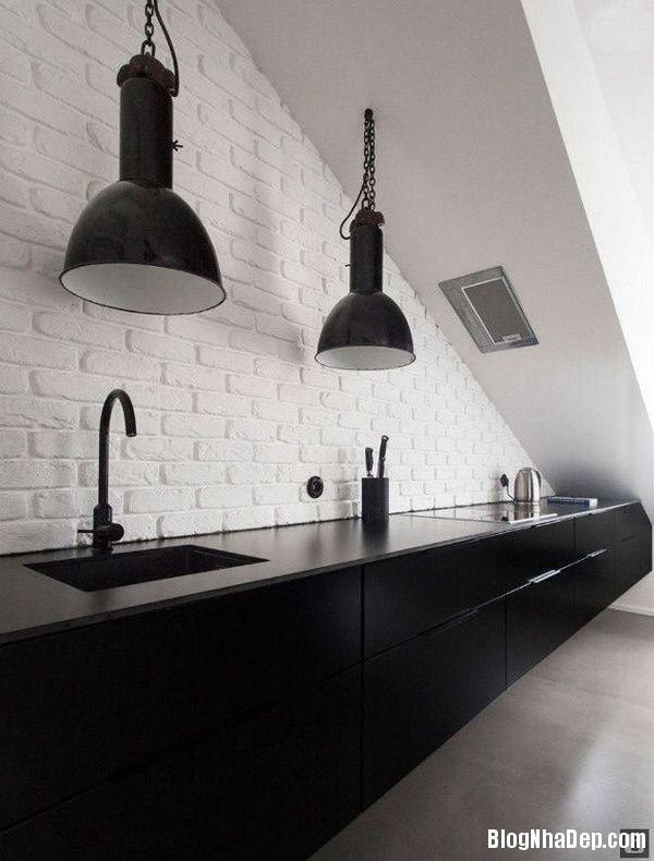 20140529074046001 Sử dụng tường gạch trong trang trí nội thất