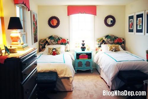 20140531073958898 Thiết kế không gian phòng ngủ chung cho hai bé