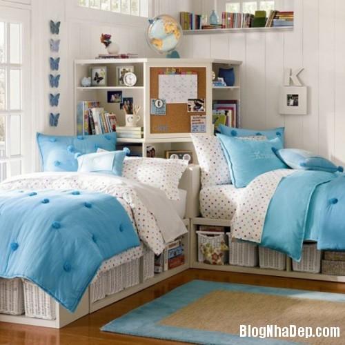 20140531074000271 Thiết kế không gian phòng ngủ chung cho hai bé