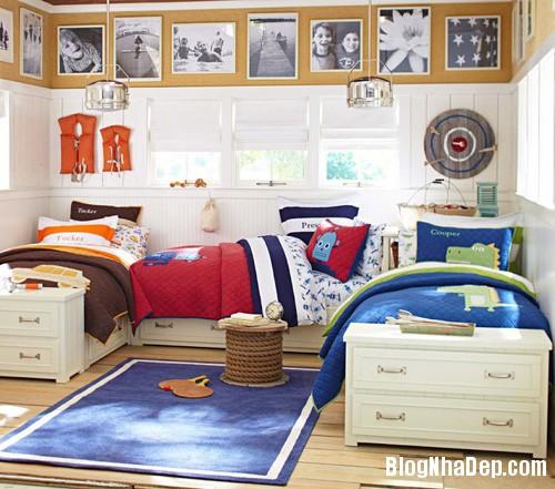 20140531074002830 Thiết kế không gian phòng ngủ chung cho hai bé