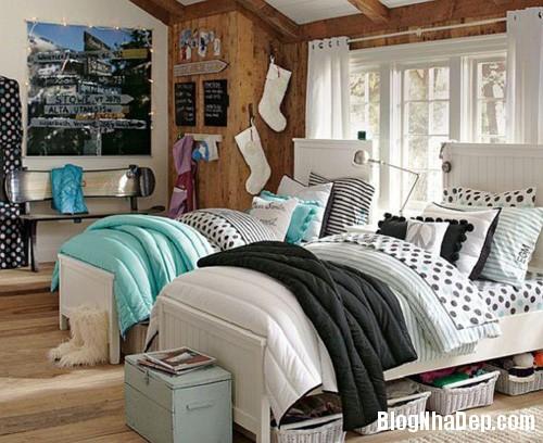 20140531074012424 Thiết kế không gian phòng ngủ chung cho hai bé