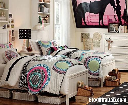 20140531074013656 Thiết kế không gian phòng ngủ chung cho hai bé