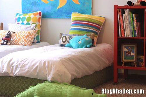20140531074014748 Thiết kế không gian phòng ngủ chung cho hai bé