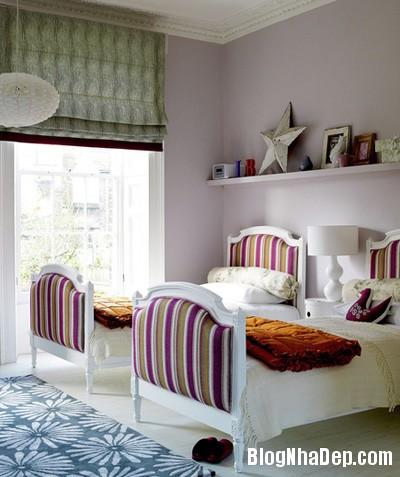 20140531074017853 Thiết kế không gian phòng ngủ chung cho hai bé