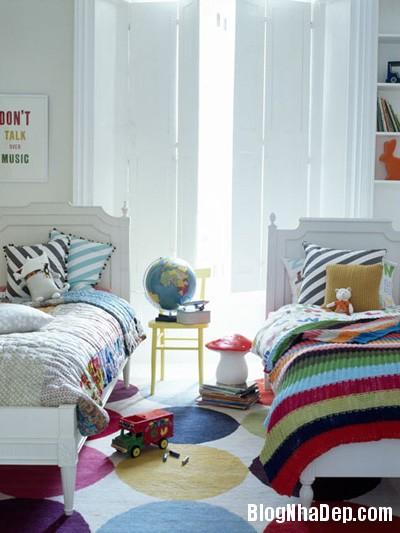 20140531074018149 Thiết kế không gian phòng ngủ chung cho hai bé