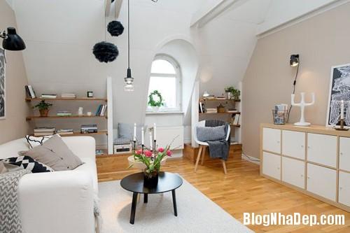 20140602083119764 Không gian thoáng cho căn hộ nhỏ trần nhà thấp