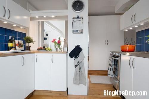 20140602083123867 Không gian thoáng cho căn hộ nhỏ trần nhà thấp