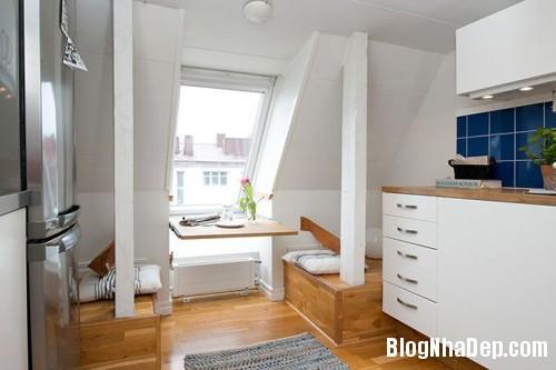 20140602083124101 Không gian thoáng cho căn hộ nhỏ trần nhà thấp