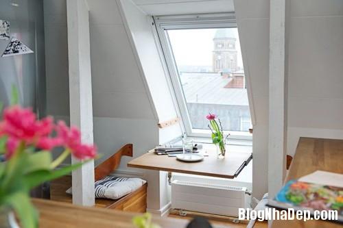 20140602083126971 Không gian thoáng cho căn hộ nhỏ trần nhà thấp