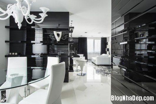 20140604071759486 Trang trí nhà bằng hai màu đen trắng