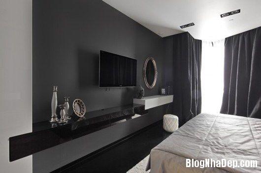 20140604071806241 Trang trí nhà bằng hai màu đen trắng