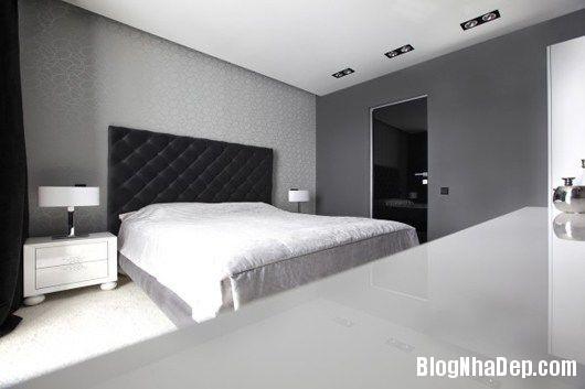 20140604071806958 Trang trí nhà bằng hai màu đen trắng