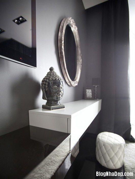 20140604071808394 Trang trí nhà bằng hai màu đen trắng