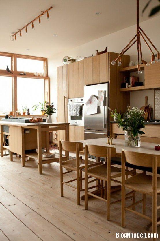 20140617073337904 Gian bếp độc đáo kết hợp giữa phong cách Nhật Bản với phong cách truyền thống của Na Uy