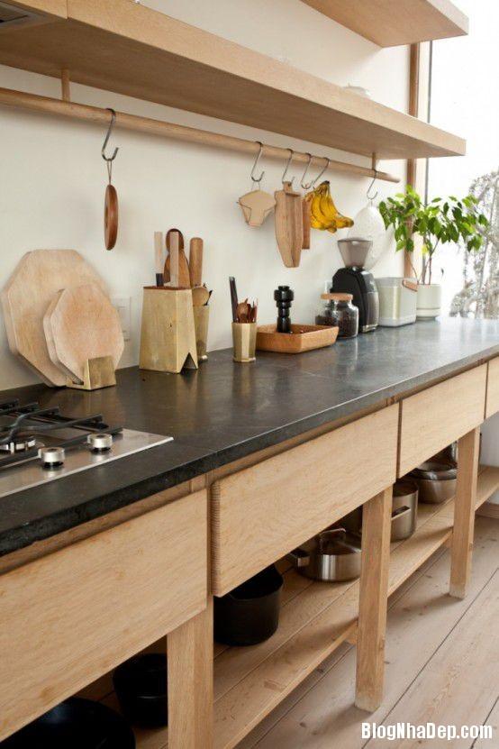 20140617073338482 Gian bếp độc đáo kết hợp giữa phong cách Nhật Bản với phong cách truyền thống của Na Uy
