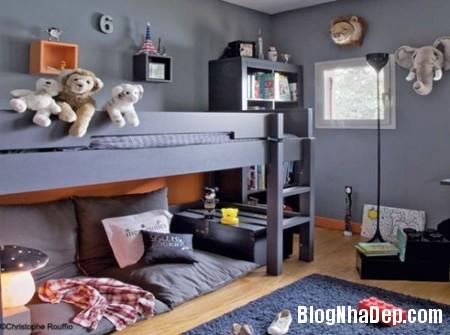 22 Tạo không gian vui chơi trong phòng ngủ cho bé yêu
