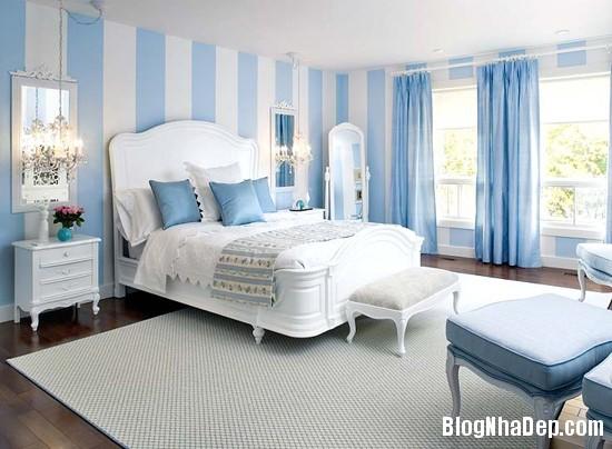 227 Phòng ngủ  tràn ngập sắc xanh của biển