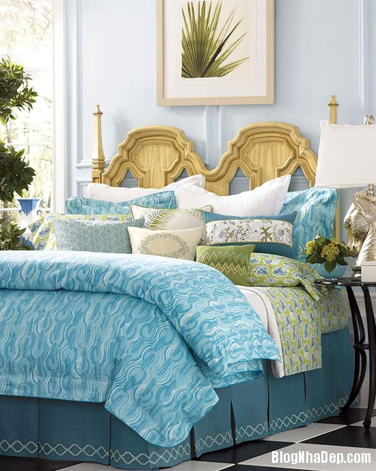 230 Phòng ngủ  tràn ngập sắc xanh của biển