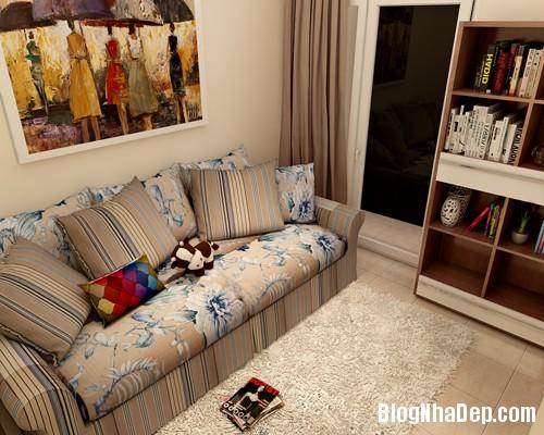 3 1395327368 Phòng khách cuốn hút với gam màu trầm