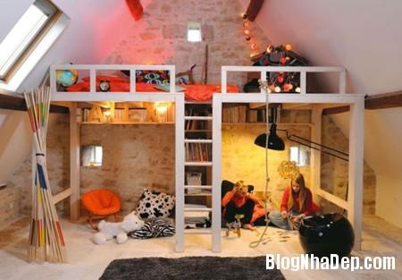 31 Tạo không gian vui chơi trong phòng ngủ cho bé yêu