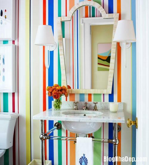 39499 Vài chiêu trang trí đơn giản làm nổi bật phòng tắm