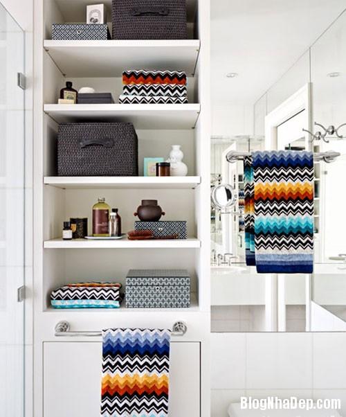 54c98 Vài chiêu trang trí đơn giản làm nổi bật phòng tắm
