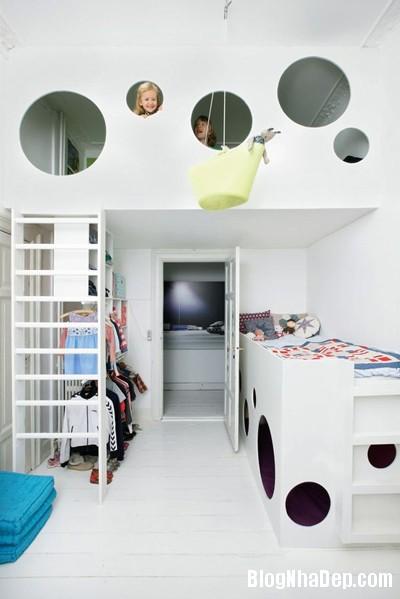 71 Tạo không gian vui chơi trong phòng ngủ cho bé yêu