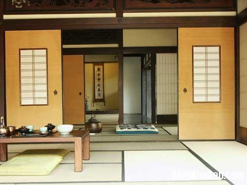 Bai tri noi that theo phong cach Nhat Ban 2 Nội thất theo phong cách Nhật Bản