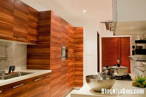 Bep01 9824 1395467080 Ngôi nhà hiện đại với nội thất đơn giản ở Hà Nội